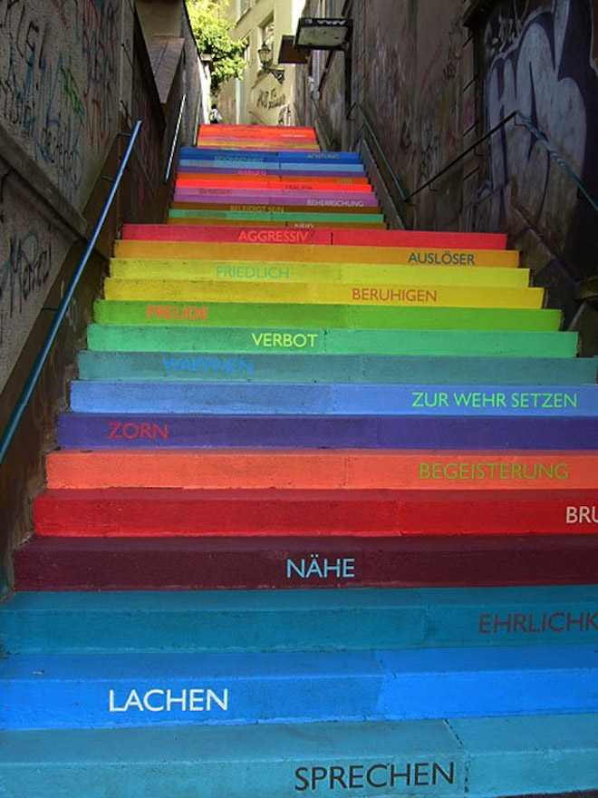escada-colorida-alemanha-Wuppertal
