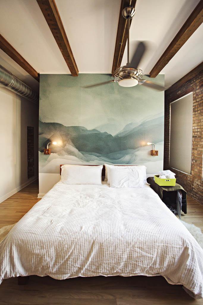 quadro-azul-turquesa-cabeceira-cama