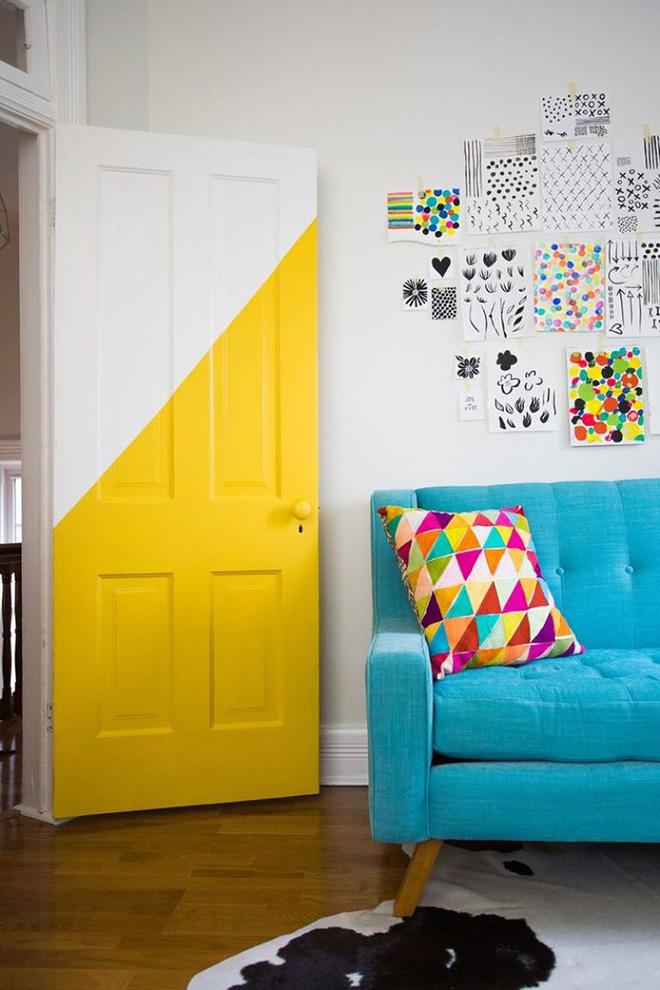 resultado-pintura-de-porta-amarela