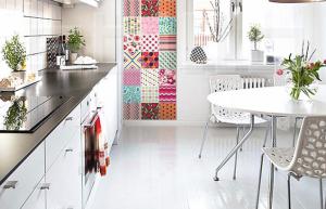 Azulejos coloridos para cozinha