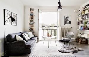 Duplex charmoso na Suécia