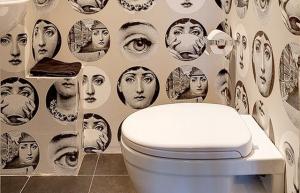 Banheiros criativos