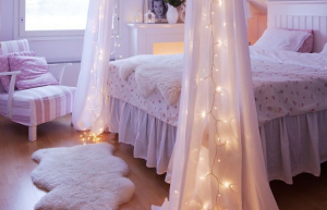 Fairy lights no décor