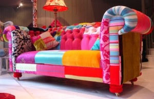 Sofás Coloridos | Ideias criativas para sua sala