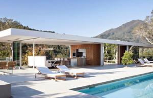 Casa de veraneio em montanha na Califórnia