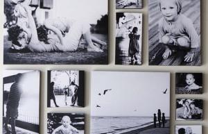 12 formas de expor fotos de família