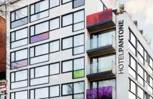 Hotel Pantone em Bruxelas