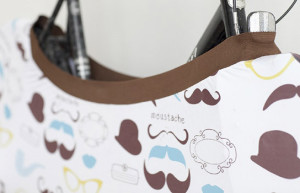 Capa criativa para bicicleta