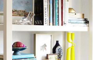 11 ideias para decorar estantes