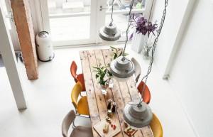 Mesas criativas para sala de jantar