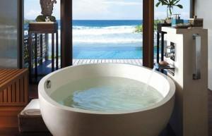 10 banheiras com vistas incríveis